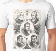 Heroes of the Slave trade abolition movement Unisex T-Shirt