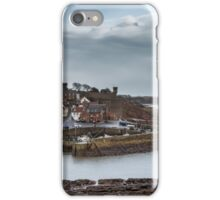 Crail Harbour in Fife, Scotland iPhone Case/Skin