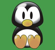 Cartoon Penguin Kids Tee
