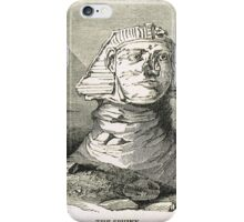 Great Sphinx of Giza & Pyramid Egypt iPhone Case/Skin