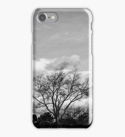 Black and White Tree iPhone Case/Skin