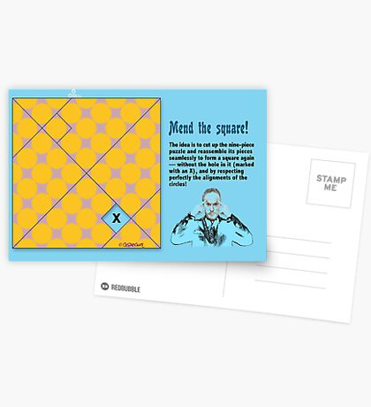 Mend the Square! Postcards