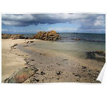 Seascape at Skerries Poster