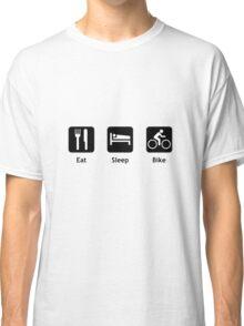 Eat Sleep Bike Classic T-Shirt