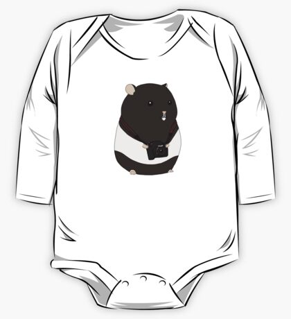 Hamster Photographer One Piece - Long Sleeve