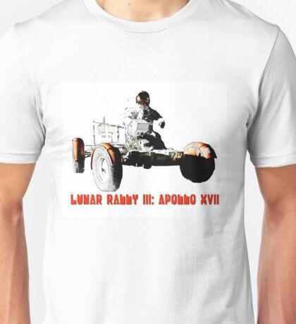 Lunar Rally 3:  Apollo 17 Unisex T-Shirt