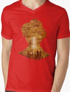 A Waits Podcast Mens V-Neck T-Shirt