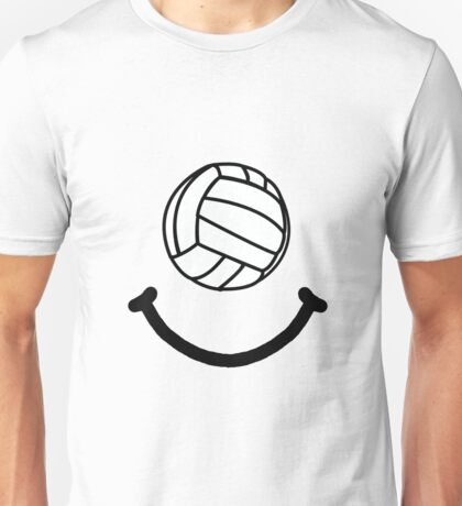 Volleyball Smile Unisex T-Shirt
