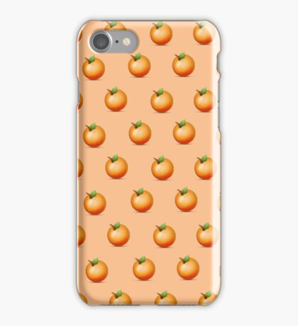 Orangey Tasting iPhone Case/Skin