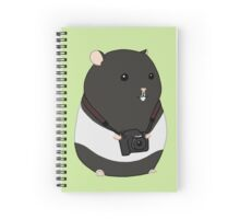 Hamster Photographer Spiral Notebook