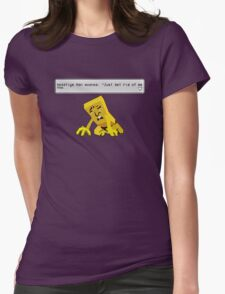 Negative Man Womens Fitted T-Shirt