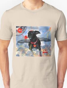 The Devil Cupid Dog That Came From Outer Space Unisex T-Shirt