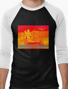 Lunar Rally 1:  Lunar Rover Apollo 15 Men's Baseball ¾ T-Shirt
