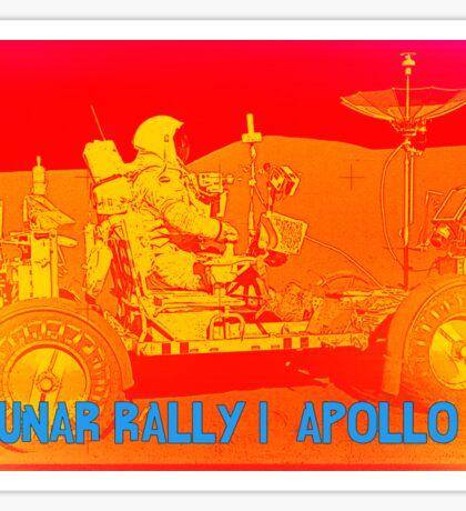 Lunar Rally 1:  Lunar Rover Apollo 15 Sticker
