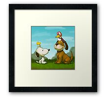 0034 - Bird Dogs Framed Print