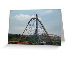 Goliath Roller Coaster Greeting Card