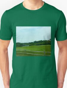 Hamptons Greenery with Fence T-Shirt