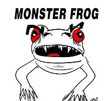 Monster Frog Design by Vincent J. Newman