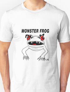 Monster Frog Design T-Shirt