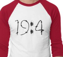 1984....YOU are being WATCHED! Men's Baseball ¾ T-Shirt