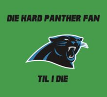 Die Hard Panther Fan ´til I Die One Piece - Short Sleeve