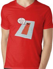 Crispy Mens V-Neck T-Shirt