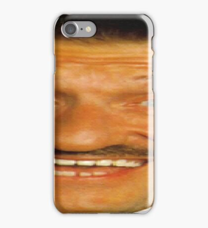 Low Res Barry Chuckle iPhone Case/Skin