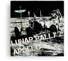Lunar Rally 2: Moon Rover Canvas Print