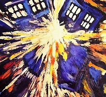 Tardis van gogh by altlappy