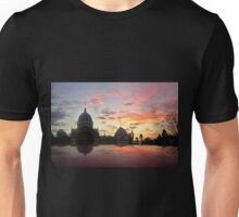 Royal Exhibition Buildings, Melbourne at sunset Unisex T-Shirt