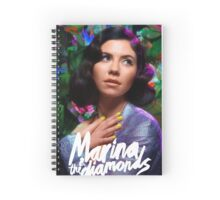 Marina and the diamonds Spiral Notebook