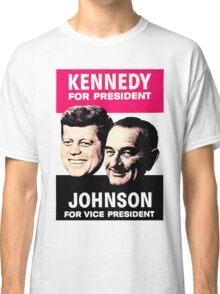KENNEDY/JOHNSON Classic T-Shirt