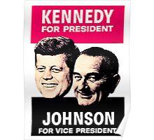 KENNEDY/JOHNSON Poster