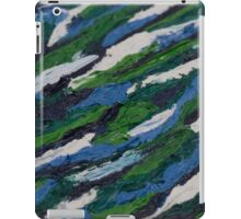 Oil Abstract 2 iPad Case/Skin