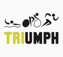 Tri Triumph Baby Tee