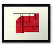 Spacefire Framed Print