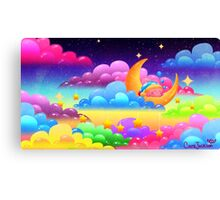 Goodnight, Kirby! Canvas Print