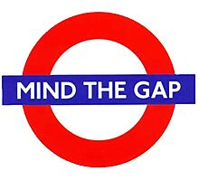 Mind the gap! Photographic Print