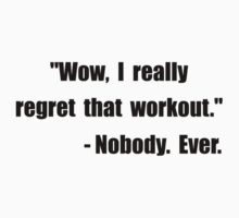 Workout Quote Kids Clothes