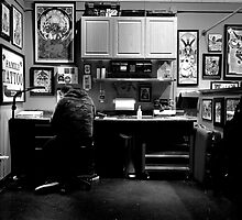 Workin' Late by PatrickO