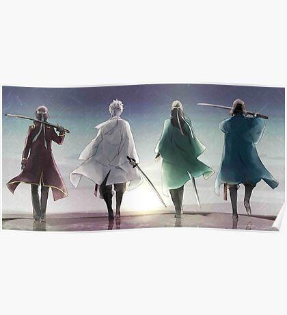 The Four Swordsmen - Gintama Poster