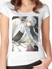 The Fierce of Gintoki Sakata Women's Fitted Scoop T-Shirt