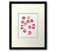 Cherries In The Snow Framed Print