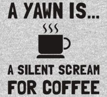 Yawn Coffee Baby Tee