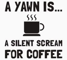 Yawn Coffee Kids Tee
