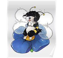 Havanese Bumble Bee Poster