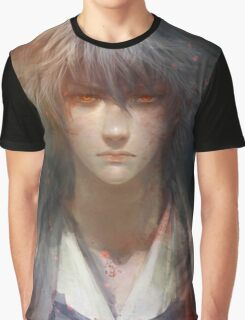 Red Eyes Gintoki Graphic T-Shirt
