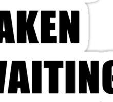 Waiting For Carol Sticker