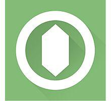 The Green Gemstone Photographic Print