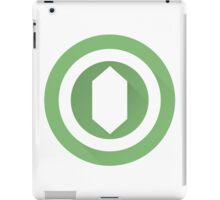The Green Gemstone iPad Case/Skin
